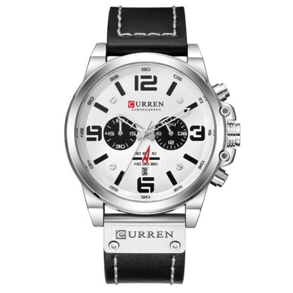 CURREN custom logo dropship men quartz watch oem private label luxury Waterproof Chronograph  sport wrist watch